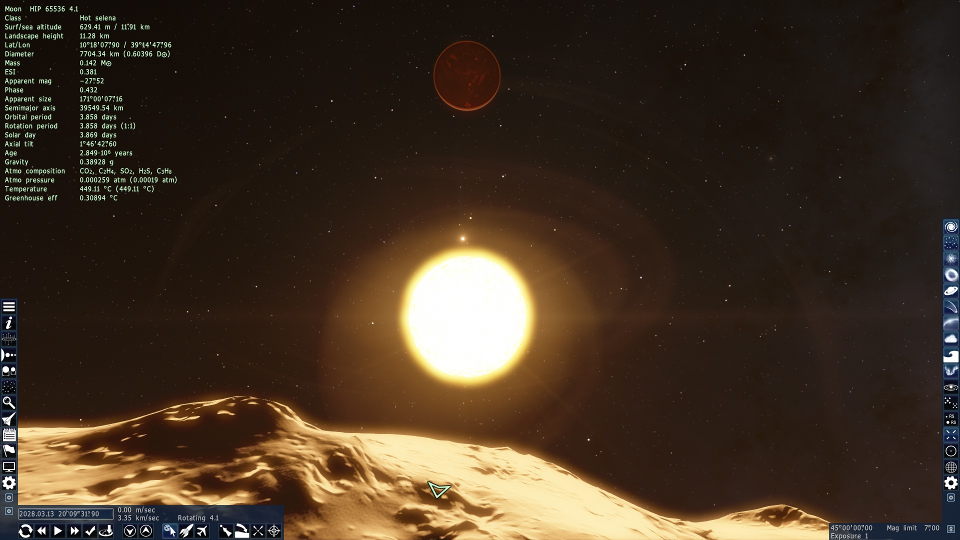 The ultimate engineered solar system on space engine